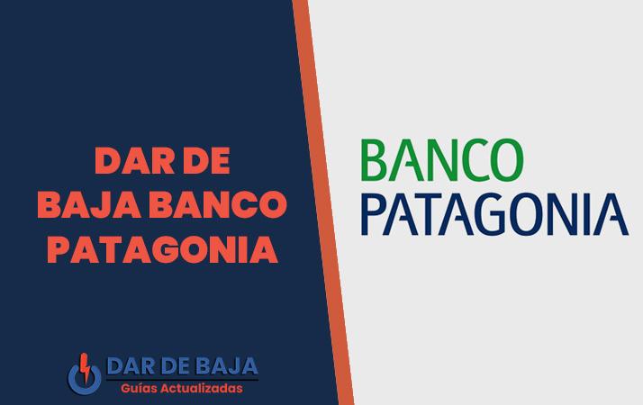 dar de baja banco patagonia