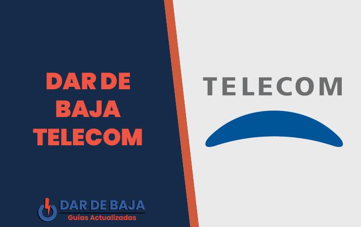 dar de baja telecom