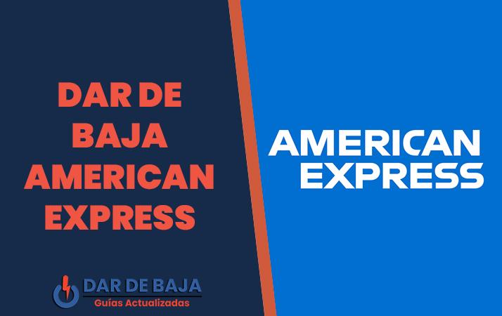 dar de baja american express