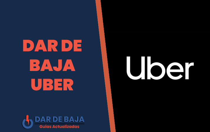dar de baja uber